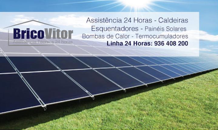 Reparação Painéis Solares Solahart Santo Estevão,
